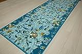 川島織物セルコン ミントン トワイライトハドンホール キッチンマット(すべり止め加工) 50×270cm FT1220 G・グリーン