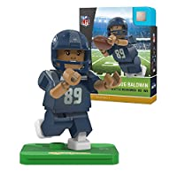 NFL Seattle Seahawks Gen4 Limited Edition Doug Baldwin Mini Figure, Small, White