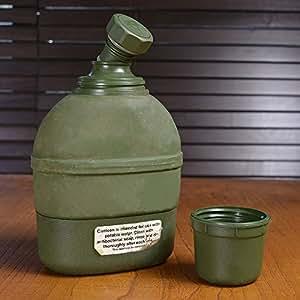 軍放出品 水筒 キャンティーン 魔法瓶 ノルウェー軍