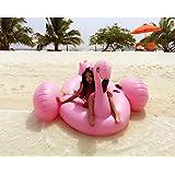 JQStar 海水浴、プール 、水遊び、大人 子供用  高品質、面白い、個性的、大型 浮き輪 (フラミンゴ150*150*105CM)