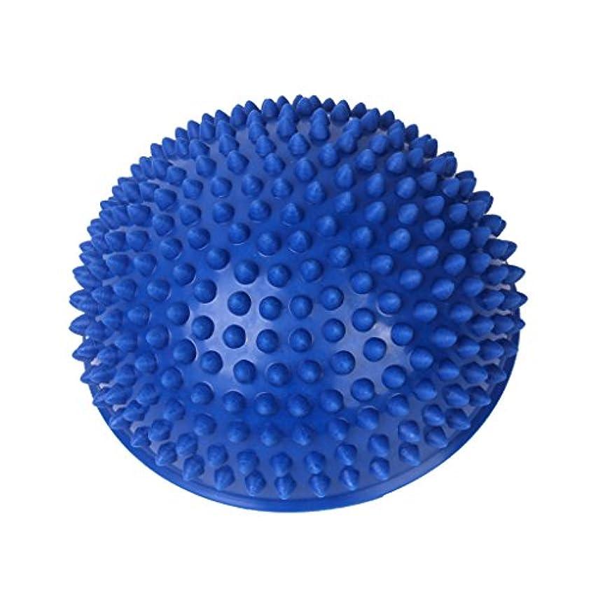 赤ちゃんインペリアル分Footful マッサージボール 半球 健康グッズ 健康器具 血液循環促進 緊張緩和 ブルー