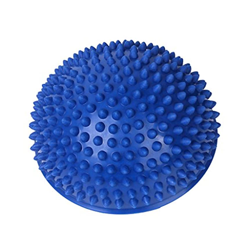 合併症批判的に無法者Footful マッサージボール 半球 健康グッズ 健康器具 血液循環促進 緊張緩和 ブルー