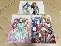 プリンセスプリンセス 姫たちのアブナい放課後 絵葉書3枚セット ポストカード