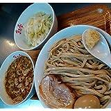 まるしげ つけ麺 2食 取り寄せ 極厚神豚 2枚付き 冷食 二郎系 豚骨 ラーメン 生麵 オーション粉100% 麺220g 秘伝スープ