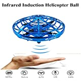 LITTLE TREE-AU Flying Toys Drones Mini UFO Drones Hand Controlled Light Up Flying Ball Drone Toys for Kids, Boys and Girls