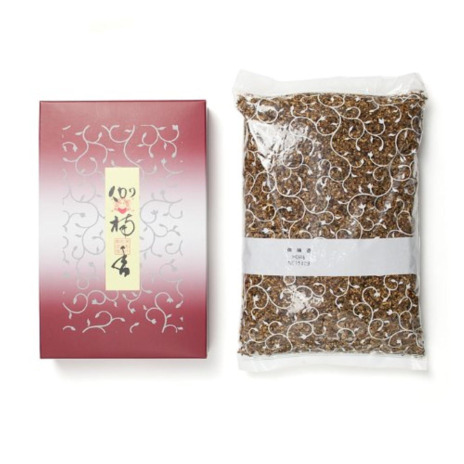 感謝祭海洋役職松栄堂のお焼香 伽楠香 500g詰 紙箱入 #410611