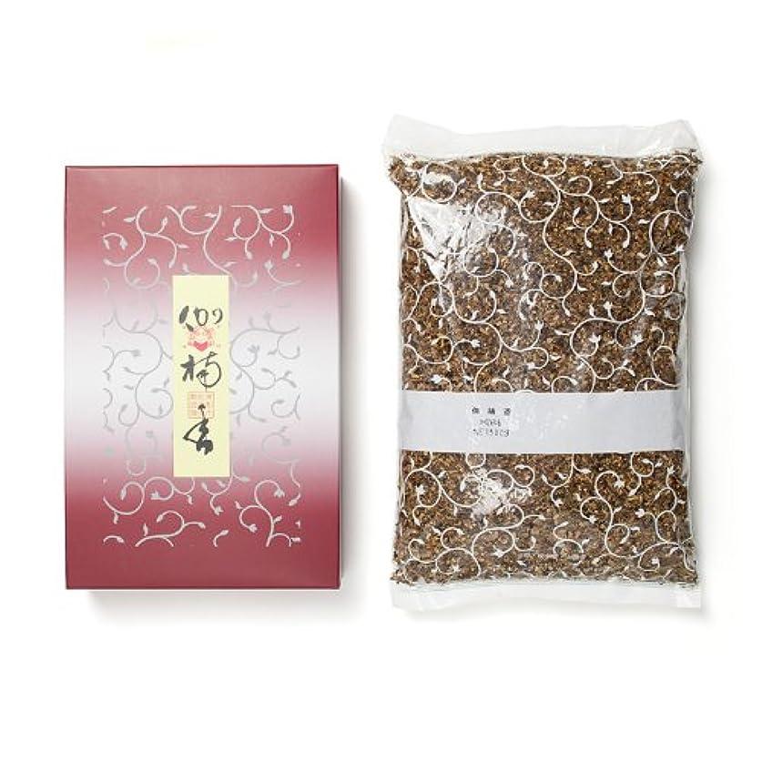 ロマンチックめまいがミンチ松栄堂のお焼香 伽楠香 500g詰 紙箱入 #410611