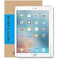 [HYPER GUARD]【30days プレミアム保障】ブルーライトカット 92% 新型 iPad 9.7インチ 第6世代 / 第5世代 2018年モデル / 2017モデル iPad Air 2 / air / iPad Pro 9.7インチ専用 極薄 0.33mm 日本製 強化ガラスフィルム 硬度 9H ラウンドエッジ 気泡防止 気泡ゼロ 指紋防止 新型アイパッド 9.7inch iPad9.7 保護フィルム 保護シート 液晶保護 タブレット 人気 v089 16AC12-15-CLRva