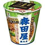 【販路限定品】明星食品 銘店紀行 森田屋總本店 90g×12個