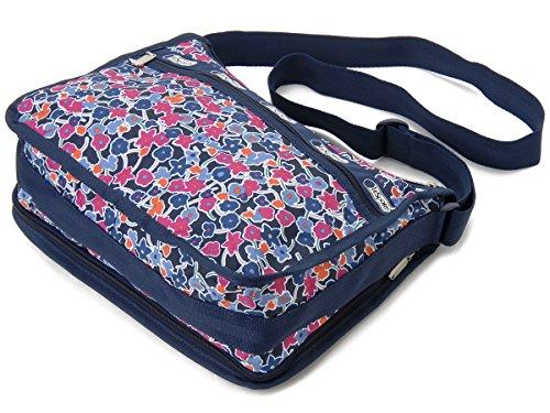LeSportsac(レスポートサック) ショルダーバッグ 7507 D920 デラックスエブリデイバッグ ディライトフルネイビー DELUXE EVERYDAY BAG [並行輸入品]
