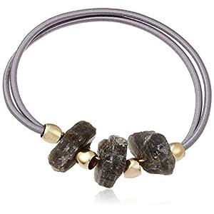 [ミルブラン] Milleblanc 天然石ヘアゴムA TM59H2AN-379GY