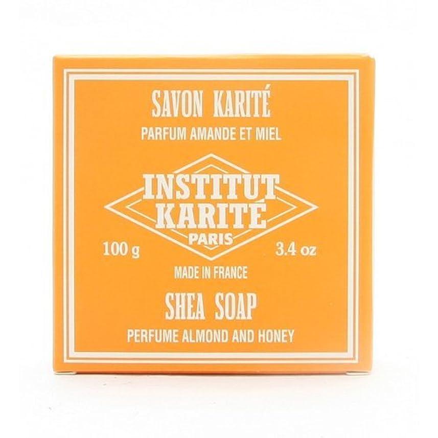 真向こう塩辛いマーベルINSTITUT KARITE インスティテュート カリテ 25% Extra Gentle Soap ジェントルソープ 100g Almond Honey アーモンドハニー