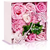 ソープフラワー 創意方形ギフトボックス 誕生日 母の日 記念日 先生の日 バレンタインデー 昇進 転居など最適としてのプレゼント