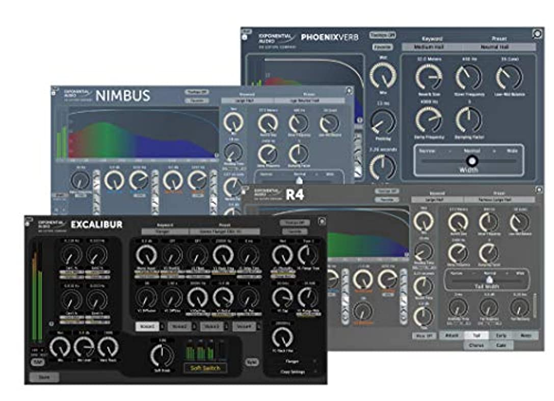 コンパイル音声学継続中iZotope Exponetial Audio Stereo Reverb Bundle アイゾトープ