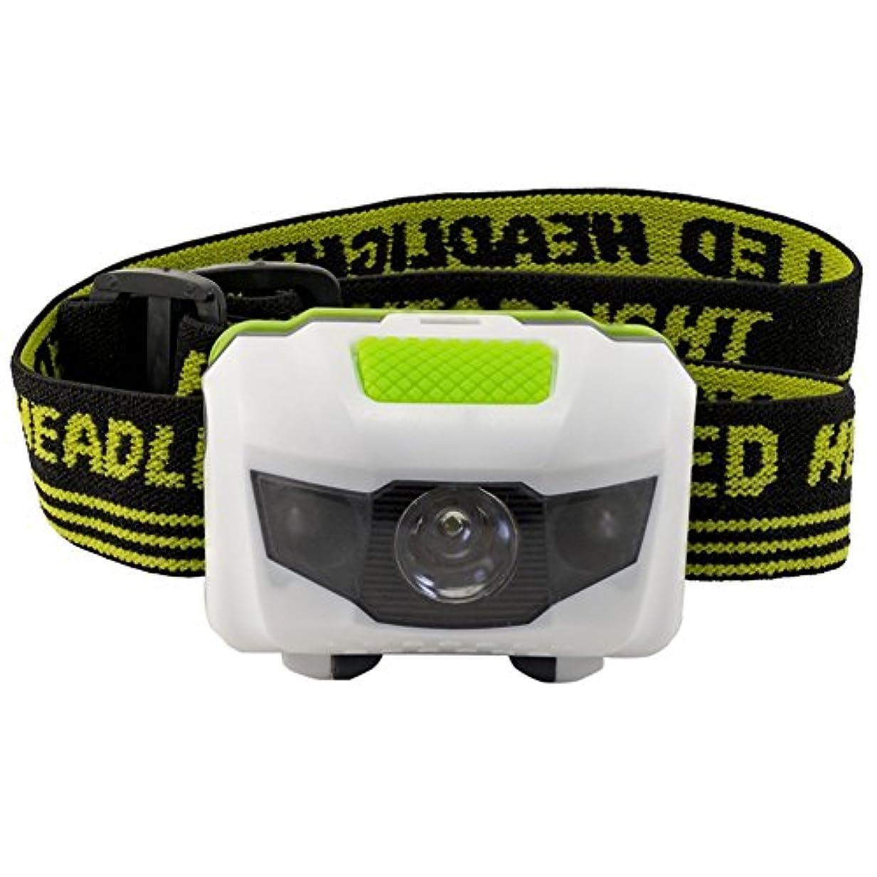 礼拝虫必要性GZQ LEDヘッドライト 電池式 防水 角度調節可能 4つの点灯モード 登山/自転車/夜釣り/キャンプ