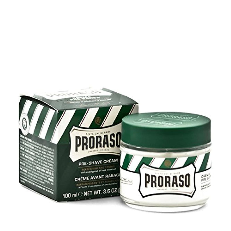 投資するチョコレートヶ月目Proraso プレシェーブ クリーム ユーカリ&メンソール100ml[海外直送品] [並行輸入品]