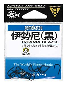がまかつ(Gamakatsu) 伊勢尼(黒) 11号