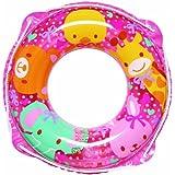 イガラシふわふわどうぶつ(ピンク) 浮き輪 直径50cm