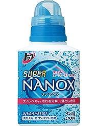 トップ スーパーナノックス 洗濯洗剤 液体 本体 450g