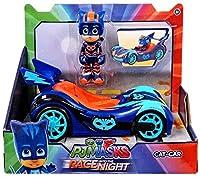 Disney Junior PJ Masks Race into the Night Cat-Car Exclusive Vehicle & Figure [並行輸入品]