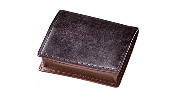 f025322220c4 Amazon | 天賞堂 ブライドルレザー小銭入れ COIN PURSE ブラウン | 小銭入れ