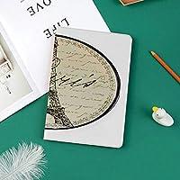 新しい ipad pro 11 2018 ケース スリムフィット シンプル 高級品質 手帳型 柔らかな内側 スタンド機能 保護ケース オートスリープ 傷つけパリをテーマにしたインテリアの有名なランドマーク観光とビンテージの壁装飾サイン