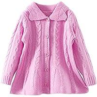 LittleSpring Little Girls Sweater Cardigan Buttons