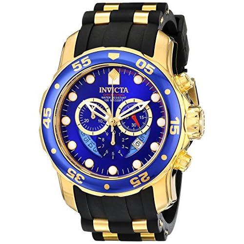 腕時計 インヴィクタ Invicta Men's 6983 Pro Diver Collection Chronograph Blue Dial Black Polyurethane Watch【並行輸入品】