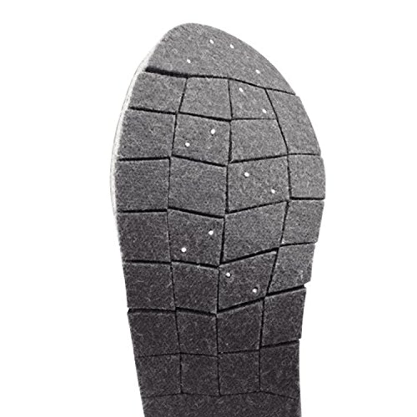 アプト満員咲くシマノ ジオロック?3Dカットピンフェルトソールキット(中割) KT-025L ダークグレー