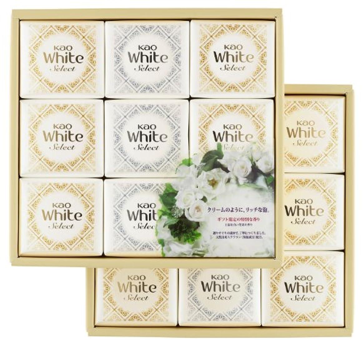 有能な応用ぴかぴか花王ホワイト セレクト 上品な白い花束の香り 85g 18コ K?WS-30