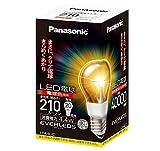 パナソニック LED電球(E26・全光束210lm・電球20W形相当・消費電力4.4W・電球色相当) LDA4LC