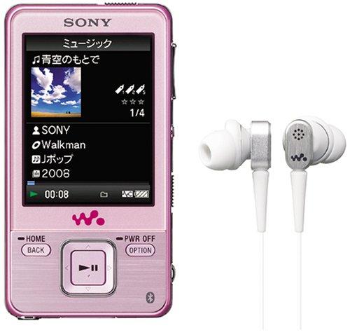 SONY ウォークマン Aシリーズ ビデオ対応 16GB ピンク NW-A829 P