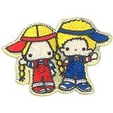ミノダ サンリオ人気キャラクター ミニワッペン パティ&ジミー S01Y9106