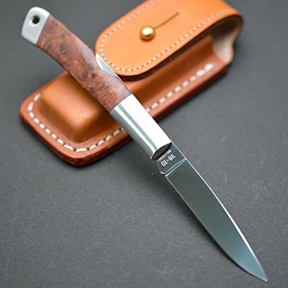 マイル無法者怒っているG?SAKAI(Gサカイ) 折りたたみナイフ アイダ T&B ウッドハンドル