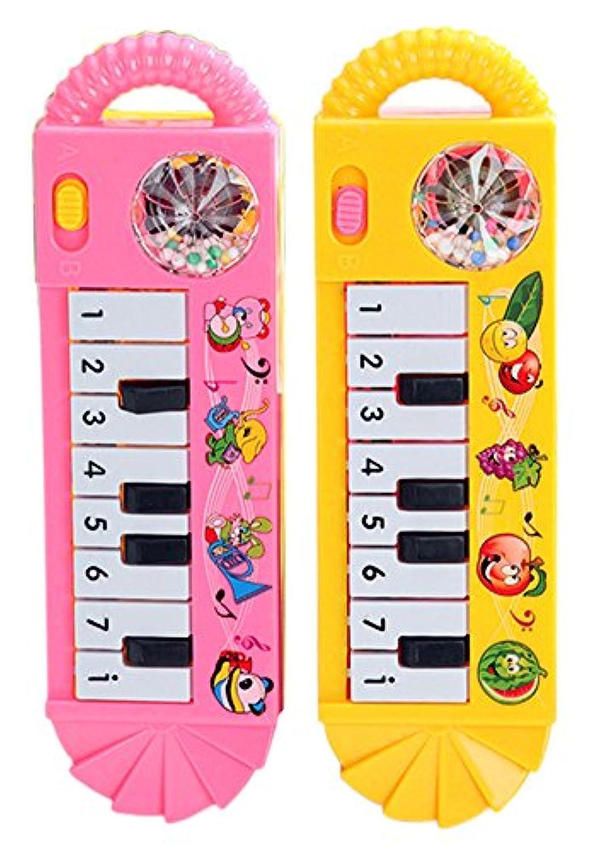 rosesummerベビー乳児幼児子供ミュージカルピアノDevelopmentalトイ早期教育ゲーム