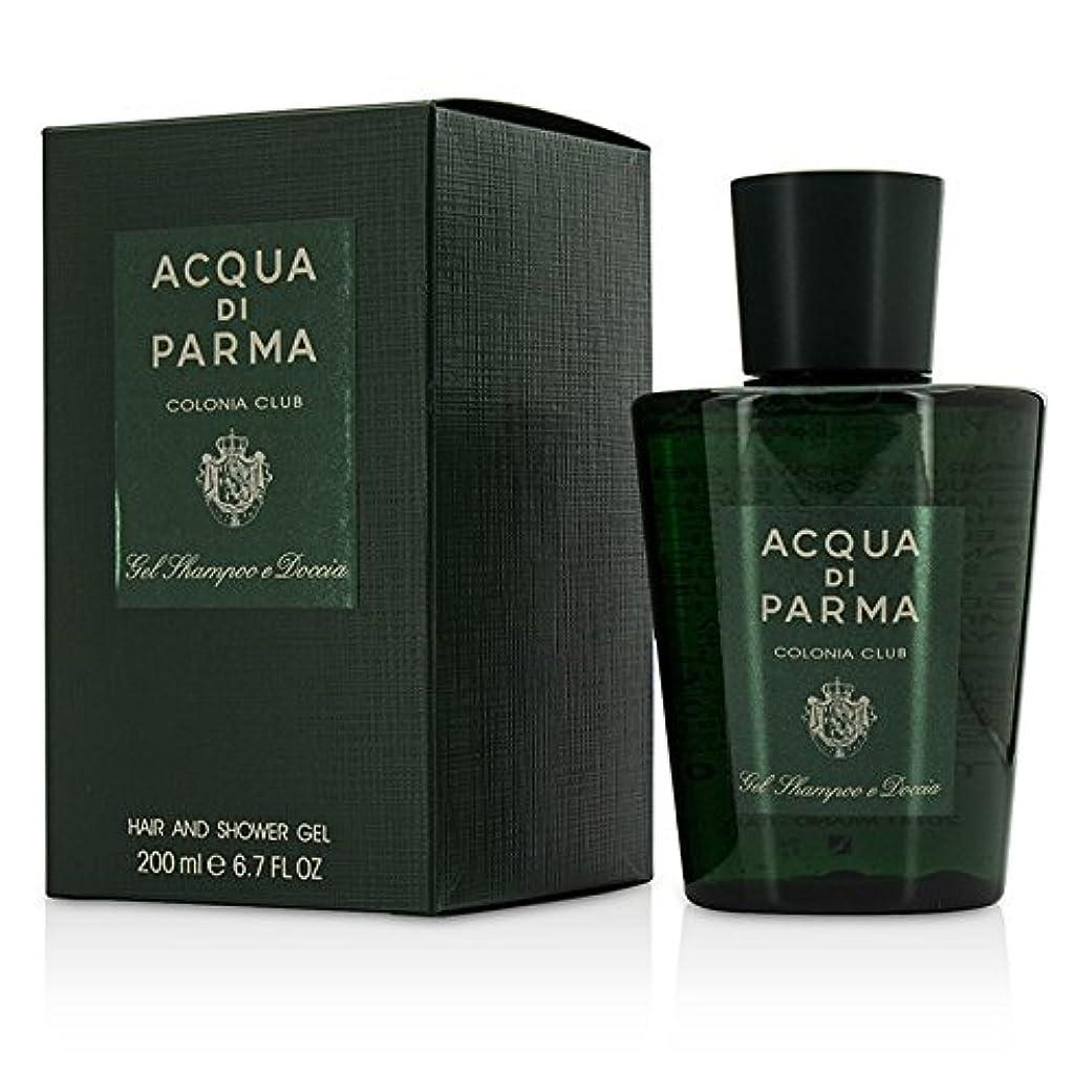 北方知覚的熟したアクアディパルマ Acqua di Parma Colonia Club Hair & Shower Gel 200ml/6.7oz並行輸入品