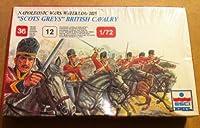 Ertl Napoleonic Wars Waterloo 4610cm Scots Greys British Cavalry: 1/72 Scale