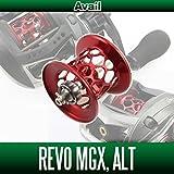 【Avail/アベイル】 Abu Revo MGX・ALT用 NEWマイクロキャストスプール MGX57RR レッド