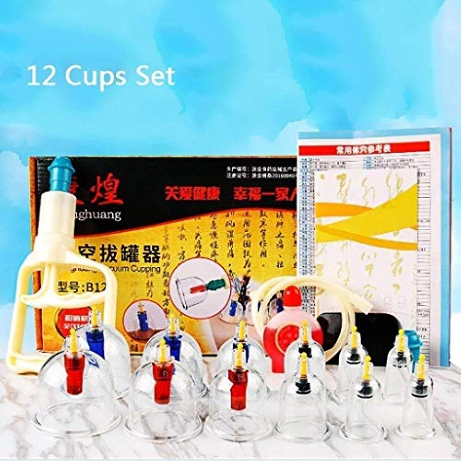 スリッパ引き出す水を飲むボディマッサージの痛みを軽減するための中国の鍼カッピング療法のプロのカッピングキット