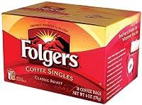 フォルガーズコーヒーシングルスクラシックロースト、38シングルサービング(2パック)