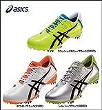 アシックス ASICS ゴルフシューズ TGN909 シルバー×ブラック 24.5cm