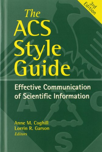 The ACS Style Guide: Effective Communication of Scientific Information 3rd Edition (An American Chemical Society Publication)の詳細を見る