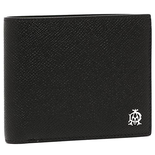 ダンヒル 財布 DUNHILL L2AC32A CADOGAN メンズ 二つ折り財布 無地 BLACK [並行輸入品]