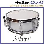 Maxtone/マックストーン SD-603/Silver スネア