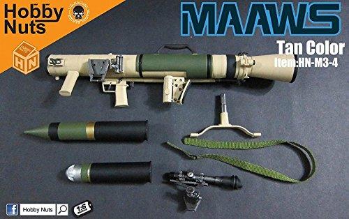 1/6 カールグスタフ M3 無反動砲 MAAWS TAN(HN-M3-4)