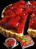 魔法洋菓子店ソルシエ 苺 のジューシーなコンポート タルト (ホール 5号)