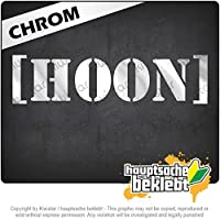 Hoonigan / Hoon Hoonigan / Hoon 20cm x 5cm 15色 - ネオン+クロム! ステッカービニールオートバイ