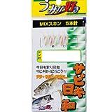 ヤマシタ(YAMASHITA) うみが好き サビキ アジ針(金)/ミックススキンラメ入 UVS504 10-3-5 XVUVS5041035