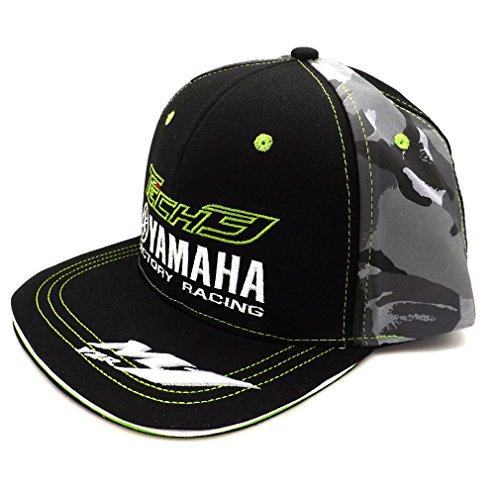 Tech 3 Yamaha Moto GP Racing Team Flat Peak Cap Official 2017