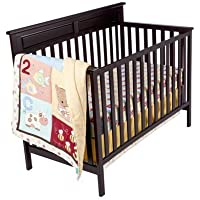 Tiddliwinks ABC 123 3pc Crib Bedding Set by Tiddliwinks